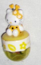 "Yellow 1 1/2"" Hello Kity Ornament Figurine"