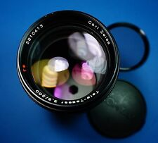 Contax Carl Zeiss T* tele tessar 200mm f3.5 made in West Germany