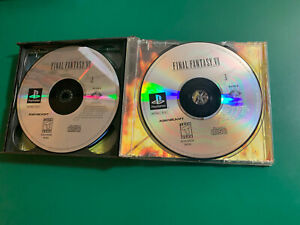 Final Fantasy VII 7 ps1 playstation game USED, Disk 2 And 3