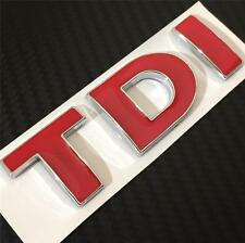 NEW TDI Badge Emblem For VW Passat Caddy Bora T5 T4 Golf Rear Boot MK4 MK5 MK6