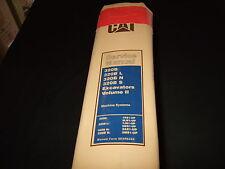 CAT CATERPILLAR 320B L N S EXCAVATOR SERVICE SHOP REPAIR BOOK MANUAL VOL II