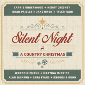 Sony-Music-Silent-Night-A-Country-Christmas-New-amp-Sealed
