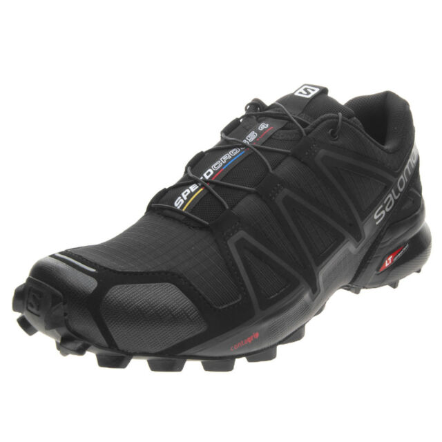 separation shoes 2c22a d1c10 Salomon Speedcross 4 SCHUHE Laufschuhe Trail-running Herren 383130 schwarz