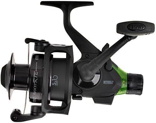 Mitchell Avocet RTE 6500fs Black Edition Black//Green Bissanzeiger