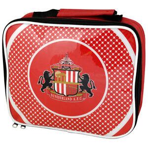 96a69b331e Details about FOOTBALL CLUB SCHOOL BOYS GIRLS KIDS INSULATED BULLSEYE SOFT LUNCH  BOX BAG