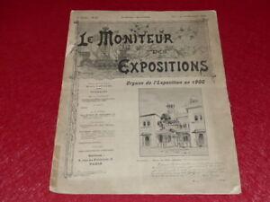 REVUE-EXPOSITION-UNIVERSELLE-1900-LE-MONITEUR-DE-1900-N-64-NOVEMBRE-1899