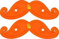 Shwings Orange Neon Mustache Wings Shoes Official Designer Shwings 11713