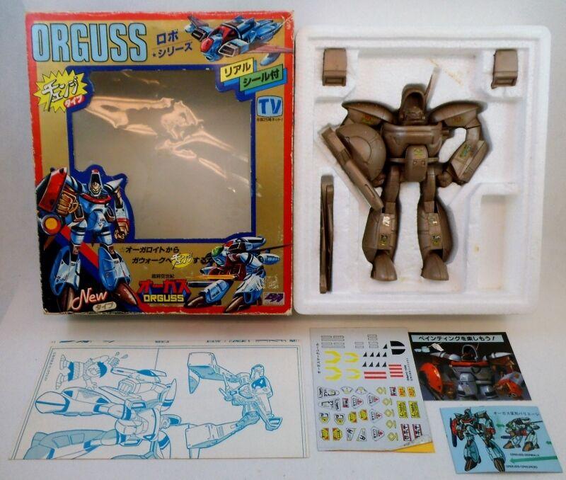 80's Ohsato Japan Vinyl Rubber Orguss Orgroid NMIB Macross Robotech Takatoku