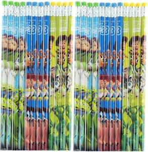 24 PCS Disney Pixar Toy Story Wood Pencils School Party Favor Authentic Licensed