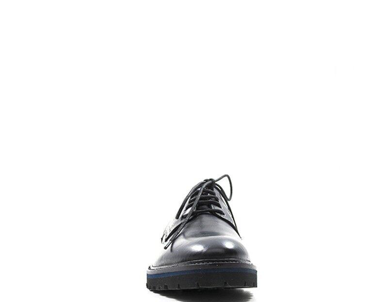 Schuhe CANGURO CANGURO CANGURO Mann schwarz Naturleder A169-100NE 746306