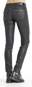 NWT-Diesel-Womens-Livier-RU807-Coated-Low-Waist-Super-Slim-Jegging-Jeans-26-x-32