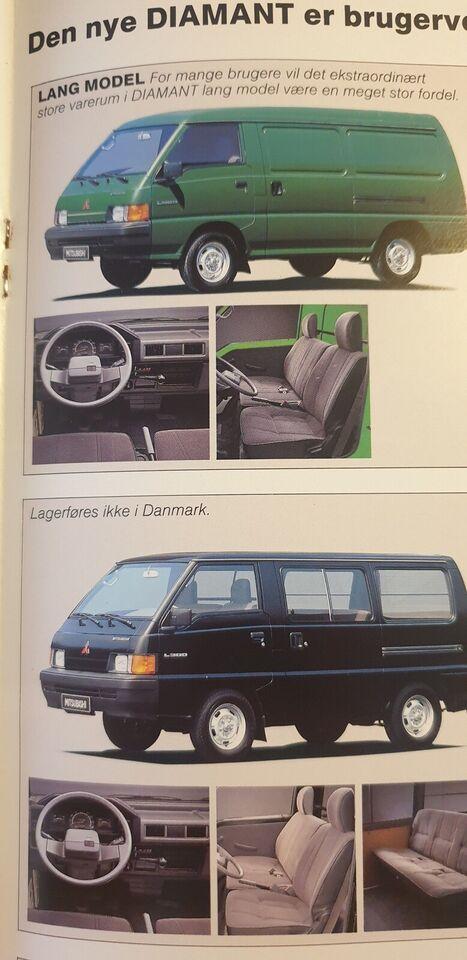 Brochure, Mitsubishi Diamant