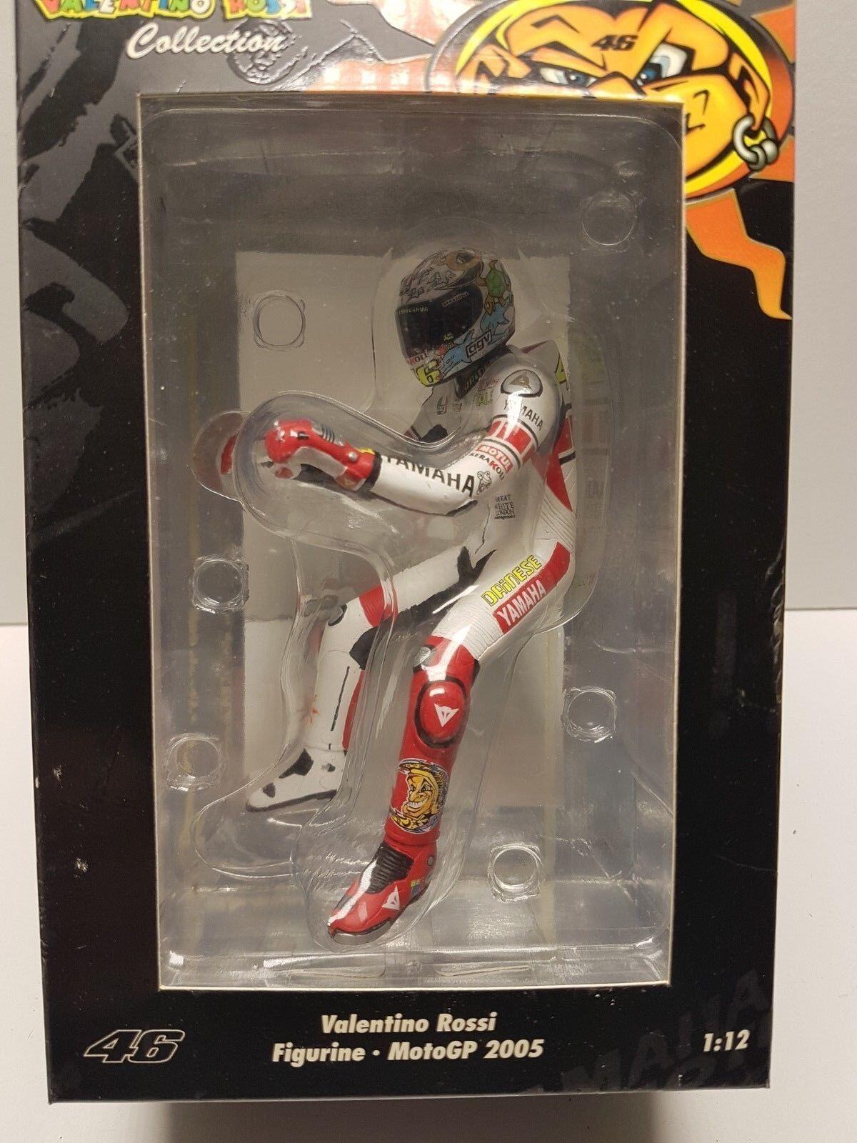 V. rossi sitting figurine moto gp 2005 1 12  minichamps 312050086  jusqu'à 42% de réduction