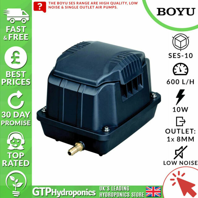 Pumps (water) Popular Brand Boyu Ses-10 Low Noise Air Pump For Large Aquariums And Ponds
