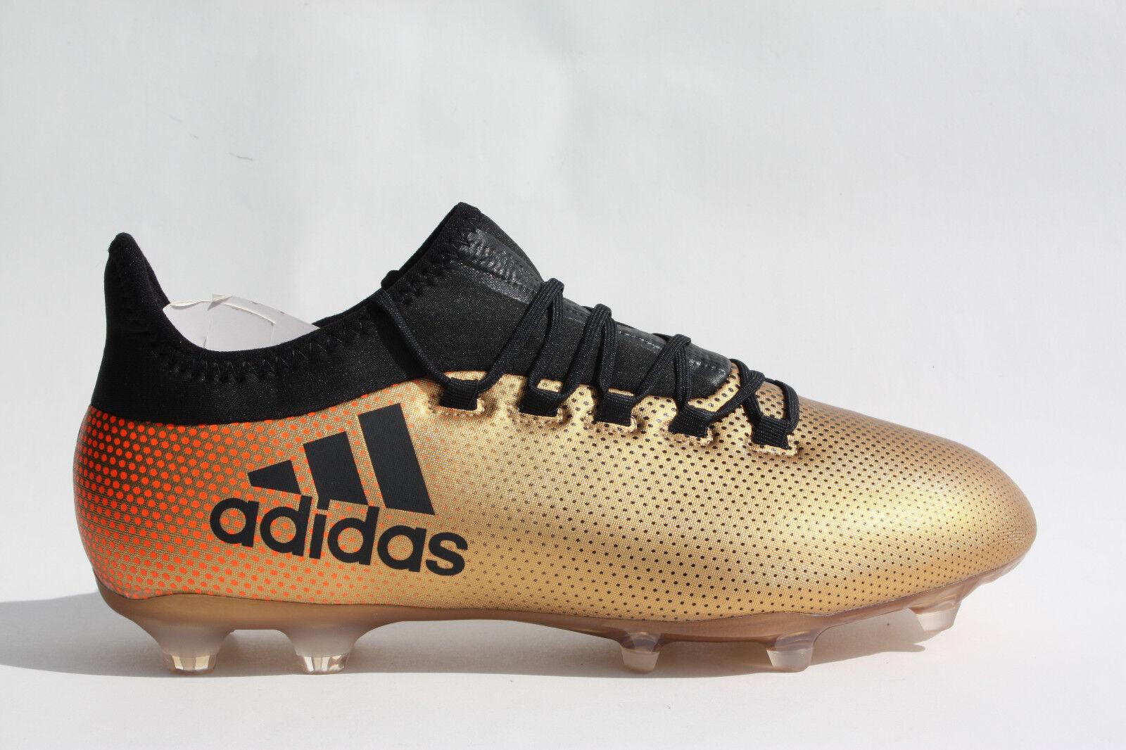 Adidas X17.2 FG CP9186-oro Negro al por menor   En Oferta
