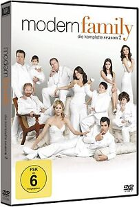 MODERN FAMILY, Season 2 (4 DVDs) NEU+OVP