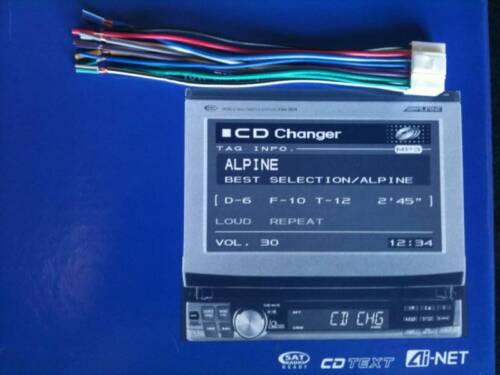 ALPINE CVA-1003 CVA-1004 CVA-1014 16 PIN WIRE HARNESS