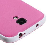 Samsung Galaxy S4 S IV PREMIUM TEXTURED TPU Hard Skin Case Phone Cover Hot Pink