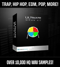 Ultimate Drum Samples + Loops | 8 GB Trap, Hip Hop, Pop | Fruity Logic Pro Tools