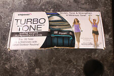 Empower TURBO TONE Walking weights plus resistance cords MP-3040R ~30+ Exercises