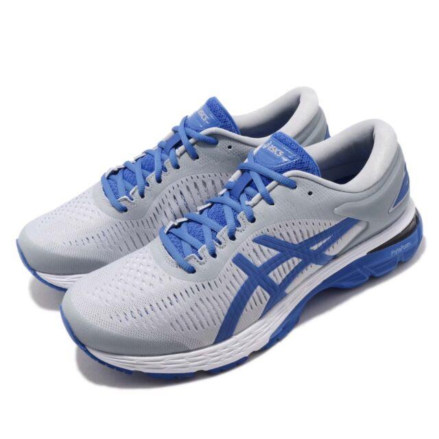 Asics Gel Kayano 25 Lite Show Grey Blue Men Running Shoes Sneakers 1011A204 020