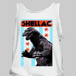 SHELLAC-NOISE-ROCK-METAL-T-SHIRT-big-black-jesus-lizard-fugazi-VEST-TOP-S-2XL