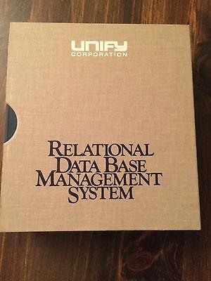 Vintage Software Programmers-Relational Database Management System store#2636