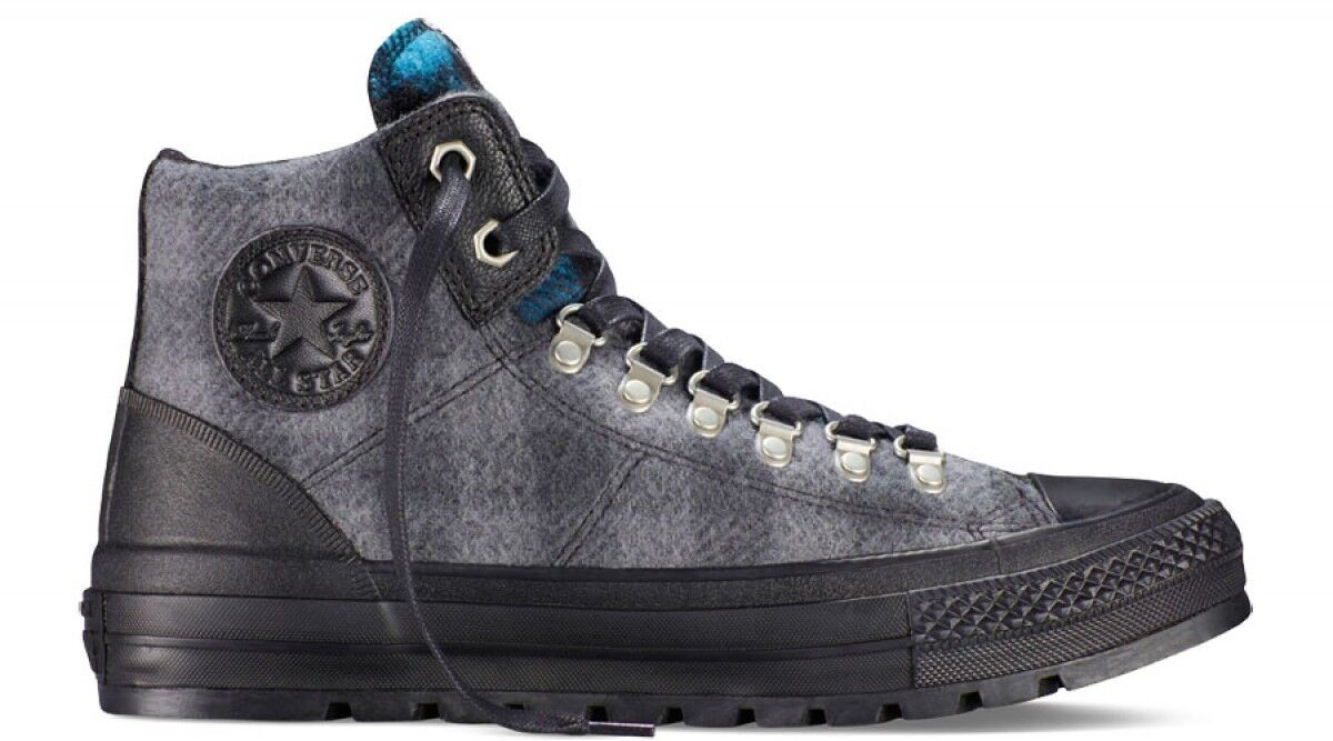 NEW CONVERSE Chuck Taylor 149385c Hiker WOOLRICH Plaid Fabric Sz Men 4 Wmn 5.5