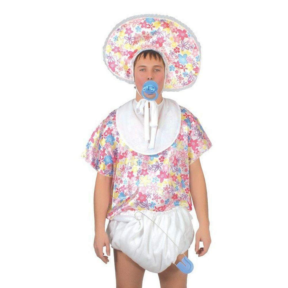 Jumbo Pacifier Big Baby Fancy Dress Halloween Adult Costume Accessory 2 COLORS