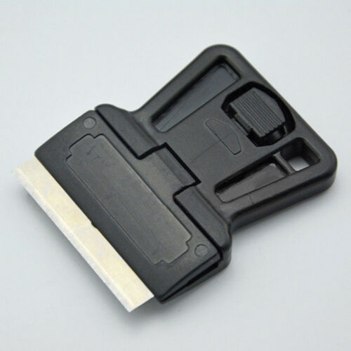 Mini Razor Blade Scraper One-Sided Razor Painting Scraper Holder Handle Hot