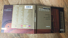 GREAT PIANISTS OF THE 20th CENTURY DOUBLE CD SAMPLER FROM THE TOP LABELS