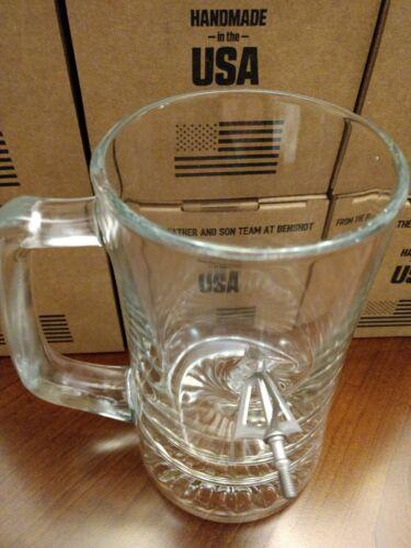 BenShot MugShot Beer Mug 24oz Embedded with a Broad Head !