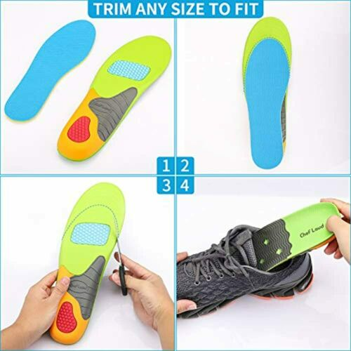 Superior Shock Absorption Details about  /Shoe Inserts Heavy Duty Support Pain Relief Insoles