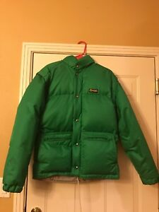 finest selection ab4aa 4a500 Details about CIESSE PIUMINI VINTAGE DOWN JACKET / VEST GREEN FULL ZIP  DETACHABLE SLEEVES SZ S
