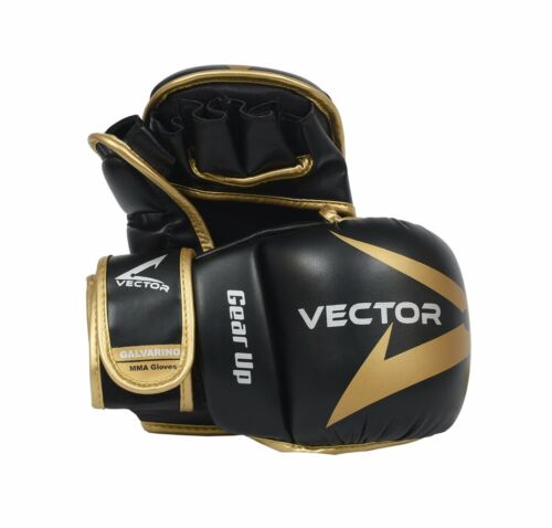 MMA UFC gloves Hybrid Multipurpose for sparring grappling and gym by Vector 7 oz