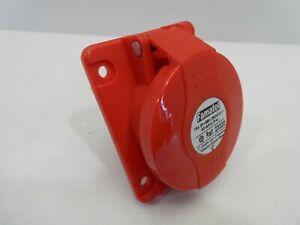 FAMATEL-23330-16-AMP-4-PIN-415-VOLT-PANEL-MOUNT-SOCKET-ANGLED-IP44-75-X-85MM