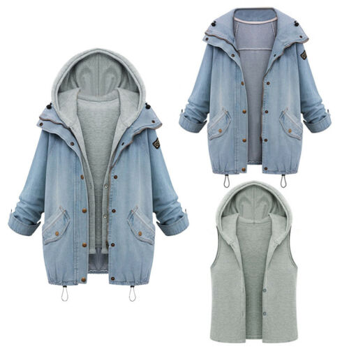 Women Winter Warm Long Coats Casual Collar Hooded Jacket Slim Parka Outwear H6T3