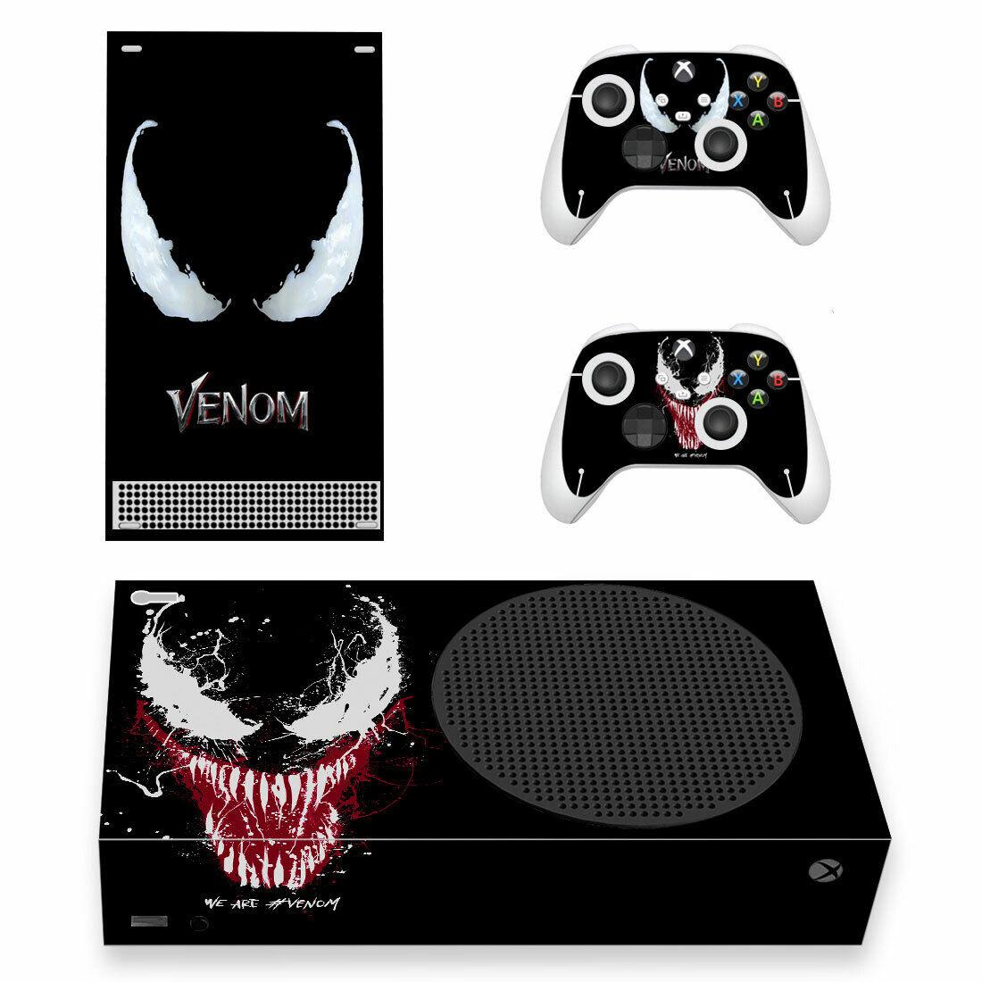 Xbox Series S Skin Sticker for Console Controller Venom Full Vinyl Decal Cover