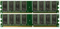 Ddr Pc3200 2x1gb 400 Low Density Memory Giga-byte K8m800-8237 Motherboard