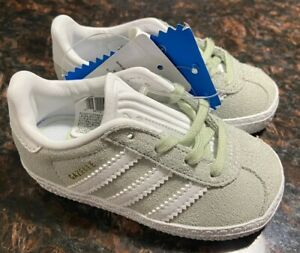 Details about Adidas Gazelle Mint Green Suede w/ Stripes Kids Sneakers Shoes Size US 5K