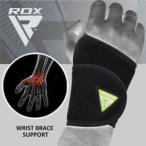 RDX-Fasce-Polsi-Palestra-Neoprene-Supporto-Sollevamento-Pesi-Mano-Thumb-Brace-IT