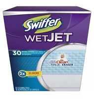 Swiffer Wet Jet Extra Power Pad Refills - 30 Ct Free Shipping