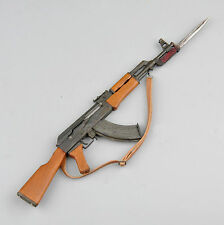 "1/6 Metal AK47 with bayonet Rifle Gun Weapon Model For 12"" Figure"