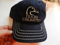 Ducks Unlimited Outdoor Cap Hat; Casual Navy; 1 Size Fits Most; Du50b