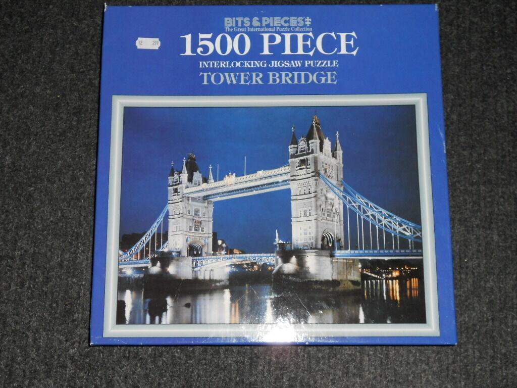 Bits & Pieces  Tower Bridge  1500 Pieces Great International Puzzle Collection