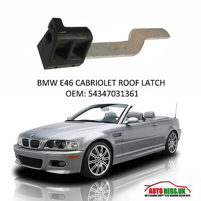 Top Lock Latch for LEFT /& RIGHT side For BMW E46 Convertible