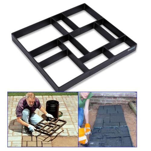 Stampo Per Cemento Pietra Pavimenti Giardino Pavimentazione Road DIY 45*40*4cm