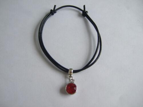 Noir Véritable Rond Cordon Cuir Argent Antique Charme Pendentifs Bracelet Bracelet Surf