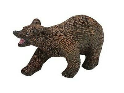 Contemplative Brown Bear Young 6 Cm Series Wild Animals Safari Ltd 290729 Firm In Structure Animals & Dinosaurs