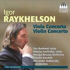 Igor Raykhelson: Viola Concerto; Violin Concerto (CD, Feb-2012, Toccata Classics)